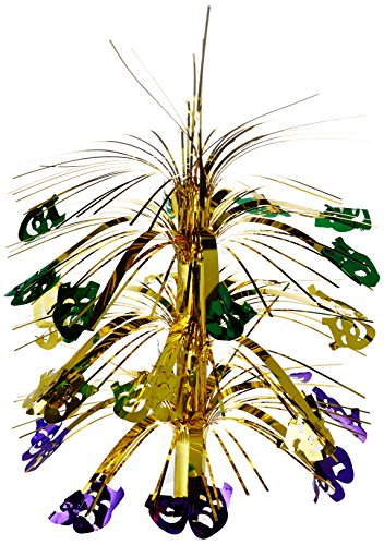 Mardi Gras Cascade Centerpiece Party Accessory (1 count) (1/Pkg)]()