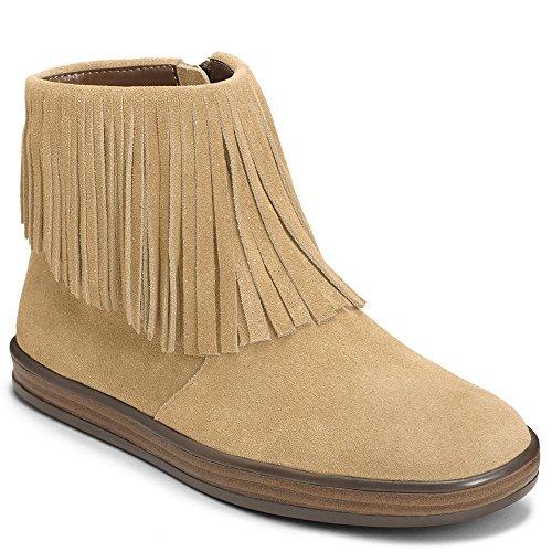 Tan Aerosoles Women's Fun Boot Good Light Suede wwAqaX4