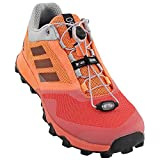 adidas Women Terrex Trailmaker Running Shoe Easy Orange/Black/Tactile Pink (7.5) For Sale