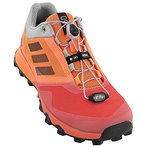 adidas Women Terrex Trailmaker Running Shoe Easy Orange/Black/Tactile Pink (7.5)