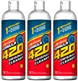 glass bong cleaner - Formula 420 Glass Metal Ceramic Pipe Cleaner 12 Oz. 3 Pack