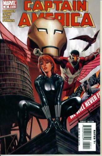 Download Captain America #32: The Burden of Dreams Part Two (Marvel Comics) pdf