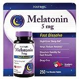 Natrol Melatonin 5mg Fast Dissolve (250 ct.) (pack of 6)