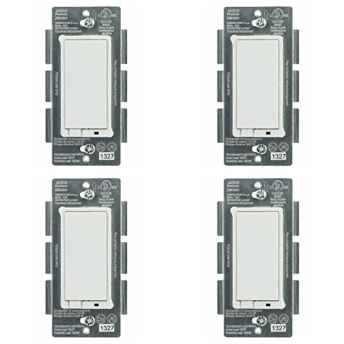Jasco 45609 Z-Wave Wireless Lighting Control On/Off Switch (4-Pack)