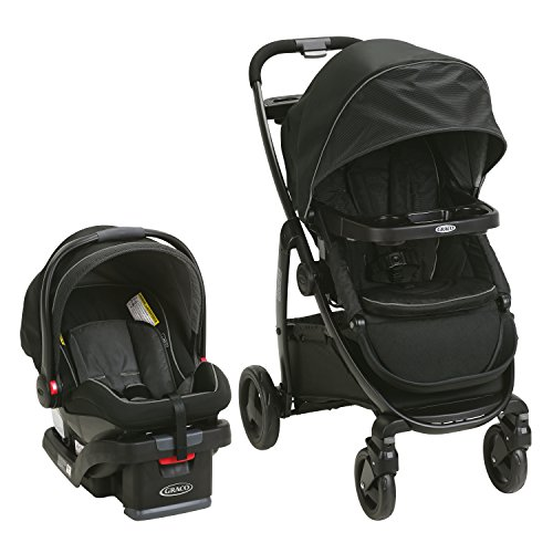 51%2BeUvRt4QL - Graco Modes Travel System | Includes Modes Stroller And SnugRide SnugLock 35 Infant Car Seat, Dayton