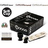 SELF CAP 100 CAPSULE CARICABILI PER NESPRESSO
