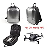 Inverlee Hard Shell Carrying Backpack Bag Case Waterproof Anti-Shock For DJI Mavic Air (Sliver)