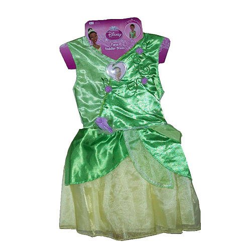 Disney Princess Tiana Toddler Dress (Hanger Card) ()
