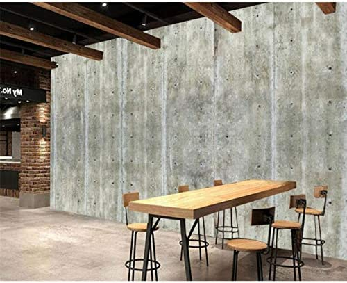 Lcymt カスタム壁紙コンクリートセメント壁背景壁画-280X200CM