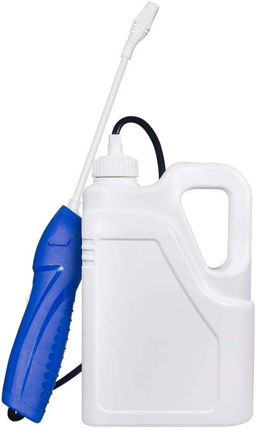 PTN Pulverizador Presion, Rociador eléctrico,Máquina Nebulizadora Desinfectante, Aerosol Desinfectante, Maleza, Matar Insectos, Regar Las Flores, Rociar a Presión para Limpiar el Hogar 0.4 Gallon