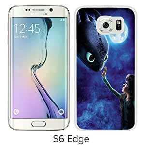 WANY Beautiful Classic How To Train Your Dragon 1 White Samsung Galaxy S6 Edge Case