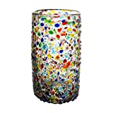 Wonderland Handcrafted Recycled Highball Glasses, 16 oz. - Set of 4