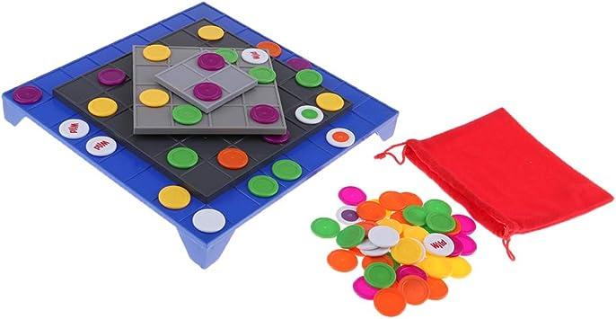 sharprepublic Juego De Mesa Educativo De La Línea 4, Aprendizaje Y Juegos De Mesa Cooperativos para Niños, Adultos, Relajarse: Amazon.es: Juguetes y juegos