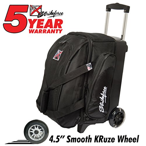 KR Cruiser Smooth Double Roller Bowling Bag ()