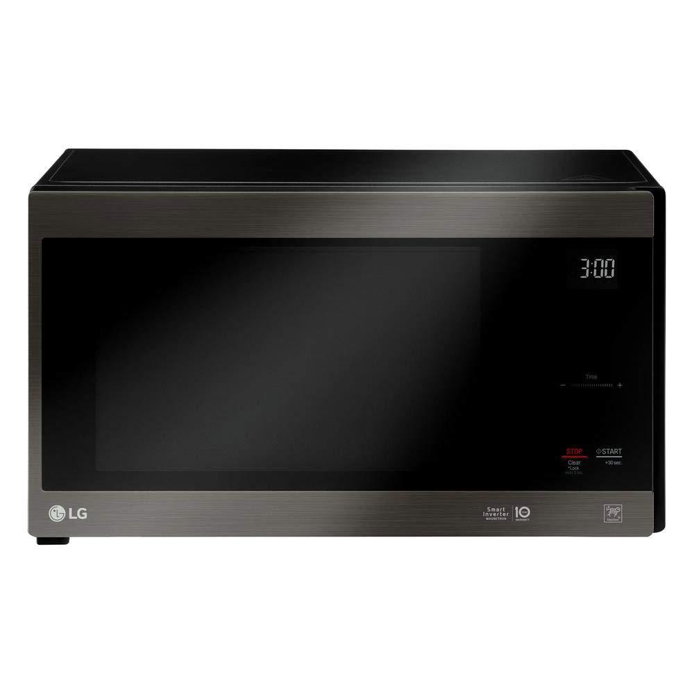 LG NeoChef Stainless Steel 1.5 Cubic Feet Microwave (Renewed)