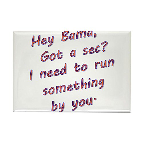 CafePress Hey Bama Magnets Rectangle Magnet, 2