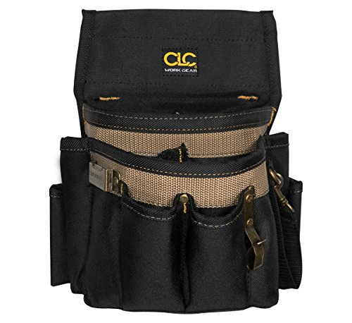 CLC Custom Leathercraft 1505 Electrician's Tool Pouch, 10-Pocket