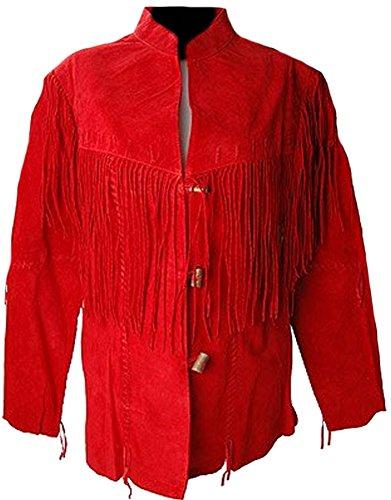 Fringed Leather Coat - 7