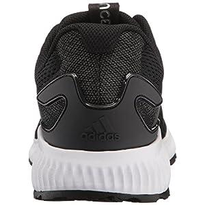 adidas Women's Aerobounce w Running Shoe, Black/White/White, 7.5 Medium US