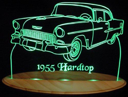 1955 Chevy BelAir Hardtop Acrylic Lighted Edge Lit 13