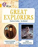 img - for Collins Big Cat ? Great Explorers: Christopher Columbus and Neil Armstrong: Gold/Band 09 by Charlotte Guillain (2015-07-01) book / textbook / text book