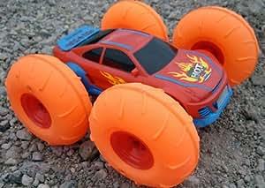 Brigamo XL OVERDRIVE All-Terrain 360° Stunt - Coche teledirigido con ruedas hinchables