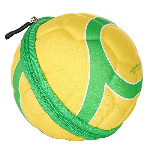 Docooler Folding Football Soccer Shape Shoes Storage Bag Sports Bag by Docooler (Image #1)