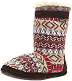 Woolrich Women's Whitecap Knit Boot Slipper, Kendall Creek, 7 M US