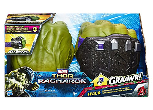 Marvel HULK HANDS Smash FX Fists Gloves Thor Ragnarok Avengers