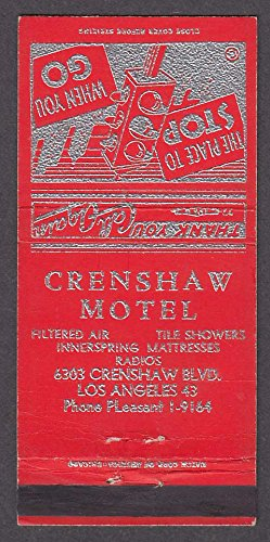 Crenshaw Motel 6303 Crenshaw Blvd Los Angeles CA - Los Angeles Crenshaw