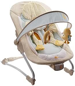 Bright Starts 6978 - Hamaca para bebé con vibración, música y diseño de pato