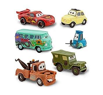 Disney Pixar Cars Figuren Set Lightning Mcqueen Hook Sarge