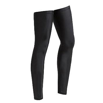 ZREAL Hombres Mujeres Compresión Ciclismo Piernas Calentadores Seguridad Deportiva Correr Legging Baloncesto Tight Sportswear