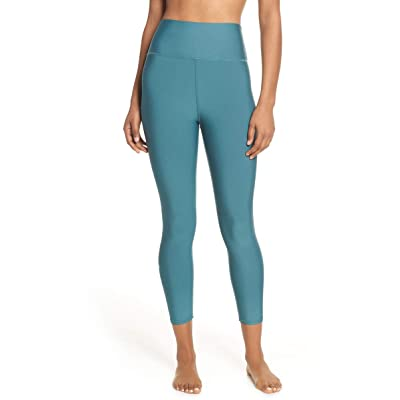 AloYoga Airlift Leggings Seagrass Medium at Amazon Women's Clothing store