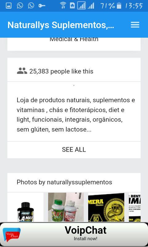 Amazon.com: Naturallys Suplementos, produtos naturais e lanches: Appstore for Android