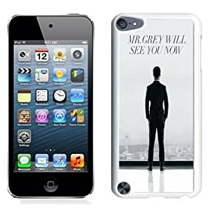 NEW Unique Custom Designed iPod Touch 5 Phone Case With Mr. Grey Will See You Now Fifty Shades Of Grey_White Phone Case