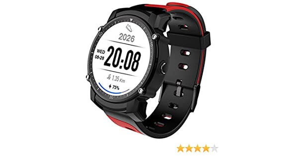 PINCHU Smart Watch FS08 Reloj GPS con Modo De Ritmo Cardíaco Multi ...