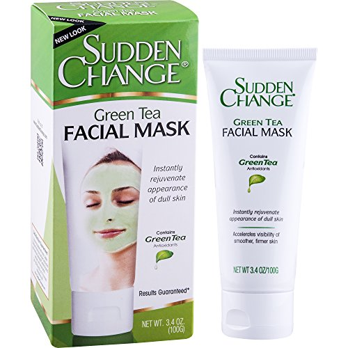 Sudden Change Green Tea Facial Mask, 3.4 oz. (Green Facial Mask)