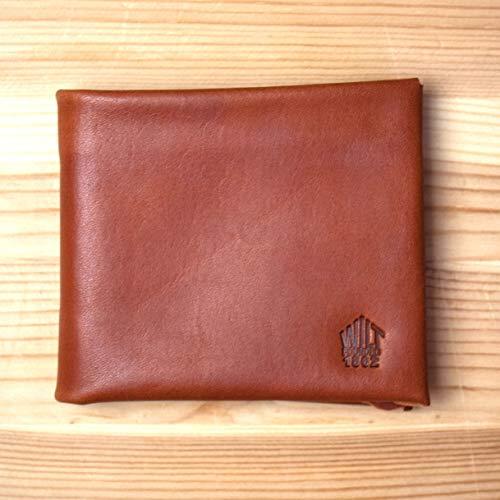 WILT 1862 Soft Leather Billfold Wallet - Whiskey Tan