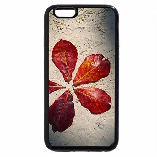 iPhone 6S Plus Case, iPhone 6 Plus Case, sand flowers