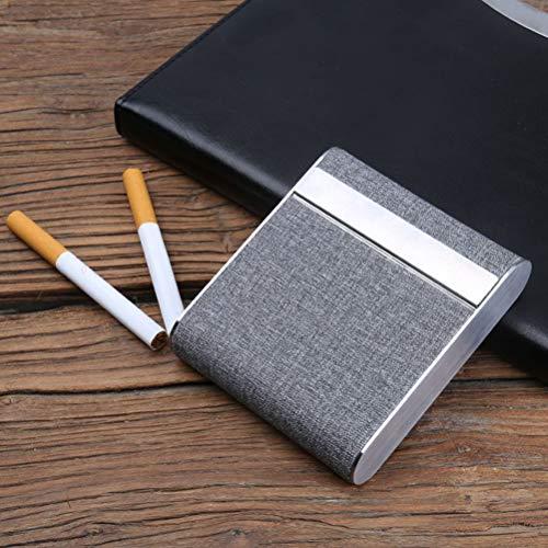 20 De Aluminium Porte Pour Cigarette À Vosarea En Étui Boîte Gris Cigarettes wqHvWX81