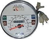 RS Vintage Parts RSV-B018FVKO2E-01410 Motorcycle Parts A86 Speedometer / Tacho Vespa LML PX Lusso 80, 125, 150, 200, 120Km/H/80 Mph White