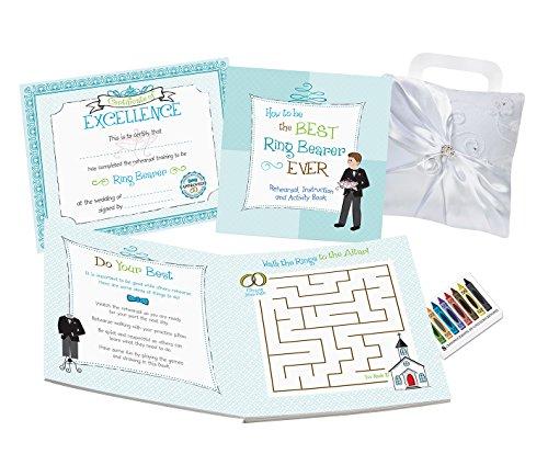 Wedding Day Ring Bearer Book - Lillian Rose Ring Bearer Activity Book