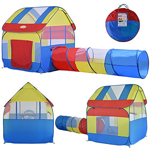 cheap Big Children Play Tent with Tunnel Indoor/Outdoor with Stakes  sc 1 st  IKON shocks & cheap Big Children Play Tent with Tunnel Indoor/Outdoor with ...