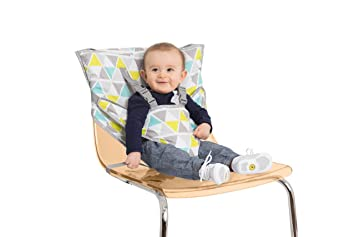 Nuby Travel Portable Baby Toddler Feeding Booster Seat Light Compact Seat New
