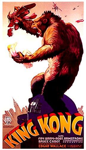 King Kong Movie Poster Reprint 1933 Big Ape Film