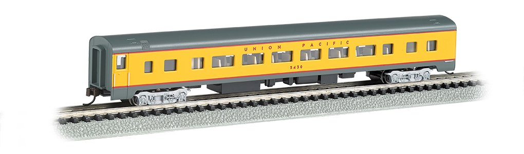 Bachmann Industries Smooth Side Coach Union Pacific N-Scale Passenger Car, 85' 85' Bachmann Industries Inc. 14254