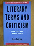 Literary Terms and Criticism, Peck, 0333588878