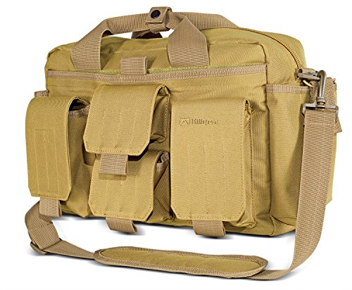 Kilimanjaro 910100 Men's Kiligear Tactical Carry Response Bag, Tan