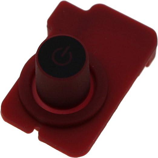 Krups Nespresso botón pulsador botón encendido Rojo ON/OFF Essenza xn2003: Amazon.es: Hogar